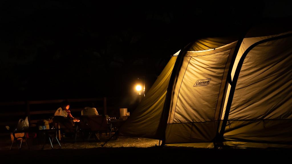 キャンプ初心者向け講習_Step3_宿泊